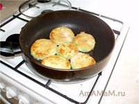 закуска из жареных кабачков, запеченных с сыром