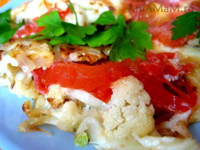 Рецепты из цветной капусты с фото
