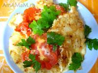 Овощной омлет - рецепт с фото