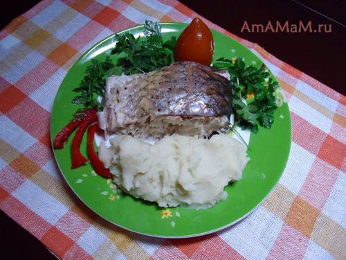 Запеченый Амур – кулинарный рецепт