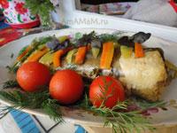 Рецепт приготовления рыбы в рукаве целиком - очень вкусно!