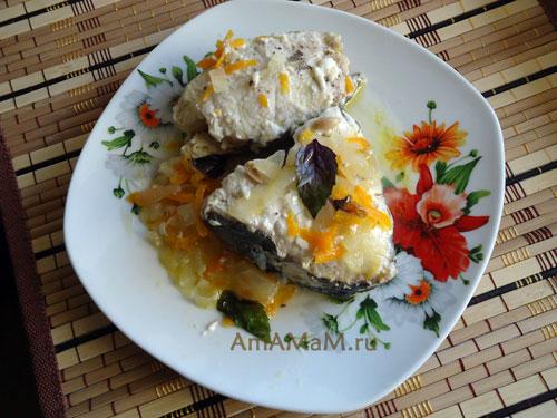 Рецепт приготовления рыбы Менек - очень вкусная тушеная рыбка!