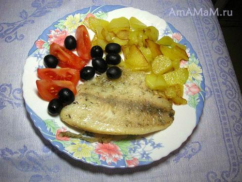 Очень вкусный рецепт жареной рыбы в необычной панировке из крахмала