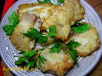 Очень вкусный пангасиус, запанированный в рисовой муке, сочный, нежный, в хрустящей корочке