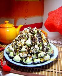 Рецепт торта из безе (готового воздушного печенья - меренги)