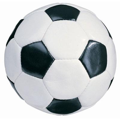 Вот как выглядят белые и черные клетки футбольного мяча