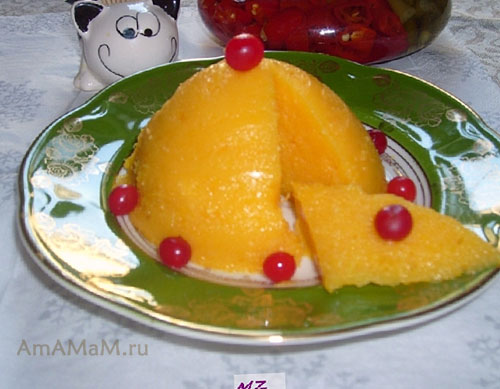 Очень вкусное мандариновое желе