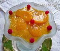 Очень вкусное желе из мандаринов и йогурта