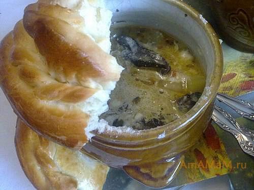 Вкусное блюдо из грибов с картошкой