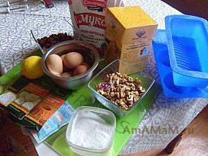 Состав продуктов для выпечки вкусных домашних кексов