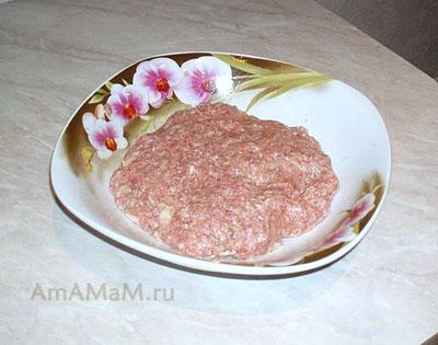 Простой и вкусный фарш для домашнего люля-кебаба