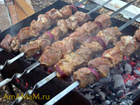 Приготовление вкусного шашлыка из говядины