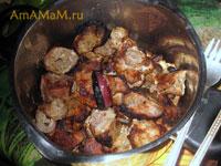 Рецепт шашлыка из баранины или шашлыка из свинины с имбирем