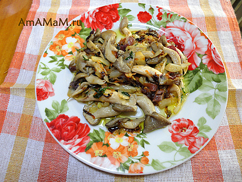 Вешенки с капустой - рецепт