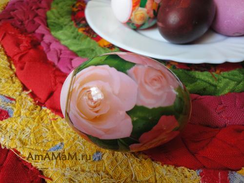 Как украсить яйца на Пасху - фото красивых яичек