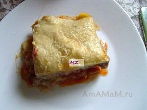 Готовим лазанью с фаршем - вкусная итальянская запеканка из пасты