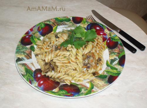 Простой и быстрый ужин для любимого без мяса