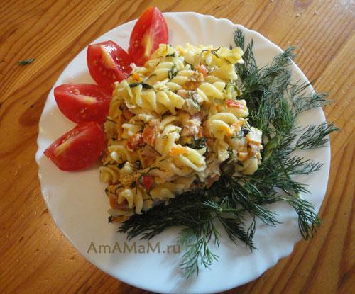 Как готовить запеканку из макарон