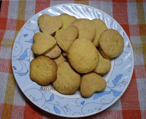 Как готовить печенье с апельсином - простой рецепт и фото