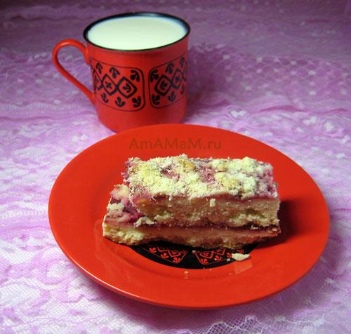 Что приготовить из песочного теста - вкусные пирожные с джемом или вареньем