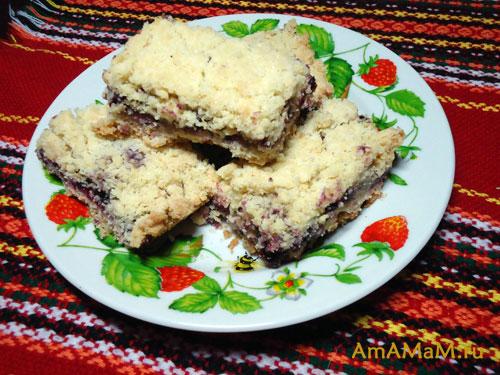 Как сделать рассыпчатое печенье с вареньем