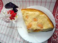 Что приготовиьт из абрикосов и творога - простой рецепт творожного пирога с абрикосами!