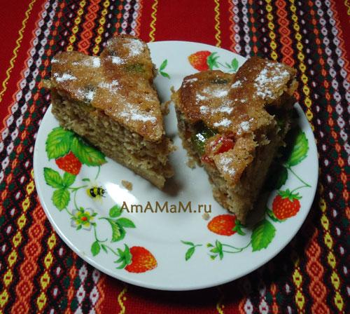 Как делать пряники в виде пирога - простой рецепт вкусного датского пряника с фото