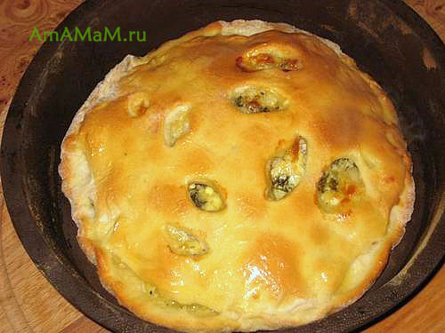 Как сделать осетинский пирог с сыром и творогом
