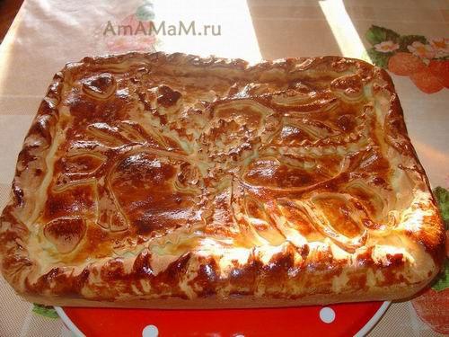 Как готовить вкусный и простой пирог с ветчиной и грибами