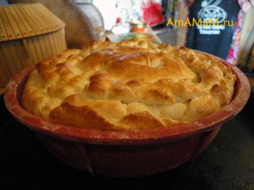 Как испечть пирог со щавелем