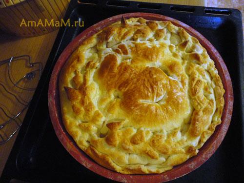 Как делать пирог из щавеля - простой и вкусный рецепт пирога!