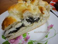 Очень вкусный щавелевый пирог с дрожжевым тестом из магазина