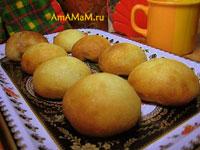 Простые и вкусные пирожки с вареньем из теста на воде и без яиц (постное тесто).