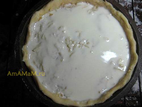 Приготовление яблочного пирога с песочным тестом