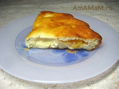 Творожный пирог (десерт) с мандаринами - простой и вкусный!