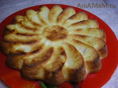 Очень вкусная и простая творожная запеканка с мандаринами!