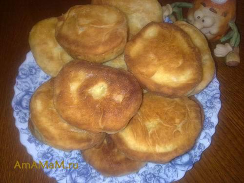 Очень вкусные пирожки, жареные на сковородке (с яблоками)