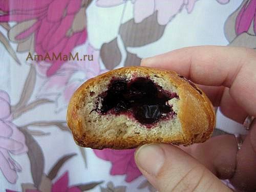 Пирожки с ягдами - сочная и свежая начинка