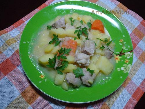 Как готовят рагу в Ирландии - простой рецепт с фото