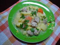 Рецепт картофельного рагу с мясом по-ирландски
