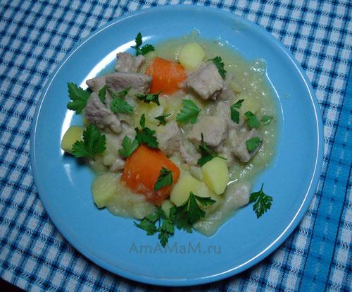 Простые рецепты вкусного ужина из картошки с мясом