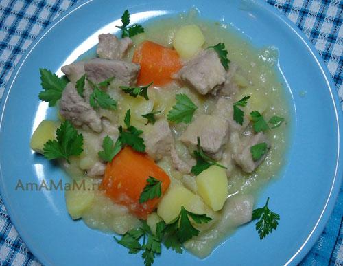 Рецепт традиционного рагу по-ирландски и фото