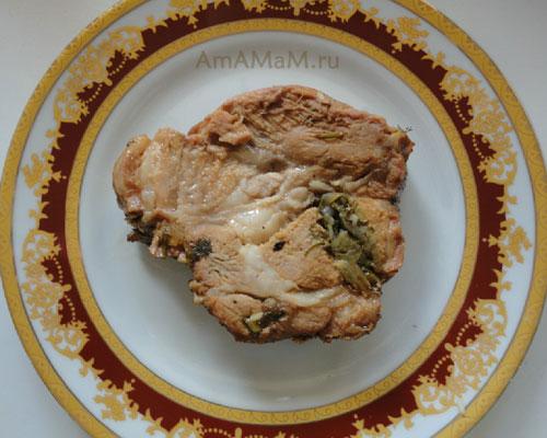 Как готовить свиную шейку вкусно - простой рецепт запекания свинины