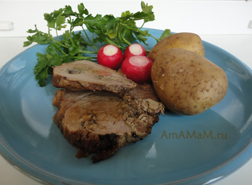 Что приготовить из свинины и вешенок