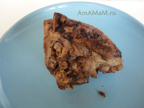Как приготовить свинину с начинкой