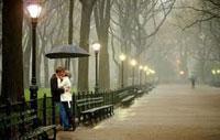 Романтическая встреча влюбленных по интернету