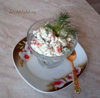 Очень вкусный рыбный салат из копченой рыбы по прибалтийскому рецепту
