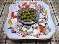 Вкусные кулинарные рецепты: как приготвить крабовый салат с яблоком