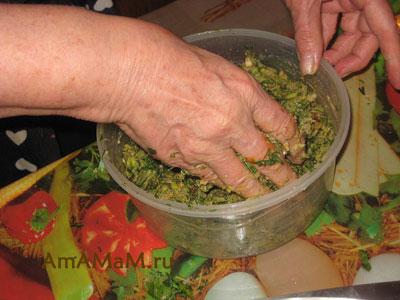 Как готовят лобио из зеленой фасли