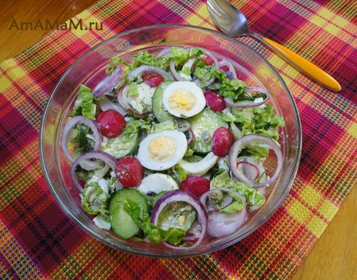 Как приготовить салат из редиски - вкусный рецепт!